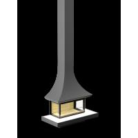 Камин пристенный АРТ П3С 12060